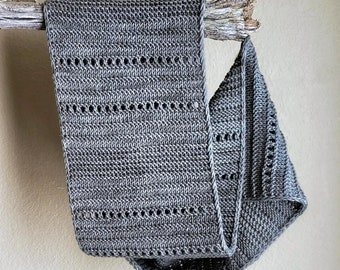 Knitting Pattern Scarf, Knit Infinity Scarf Pattern, Infinity Scarf Knitting Pattern Knit Cowl Scarf Pattern, Snow Traces Scarf Pattern