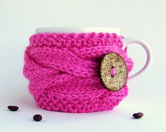 Cup Cozy, Coffee Sleeve, Coffee Cup Sleeve, Coffee Mug Cozy, Knit Cup Cozy, Coffee Cup Cozy, Coffee Cozy, Coffee Cup Sleeves, Tea Gifts