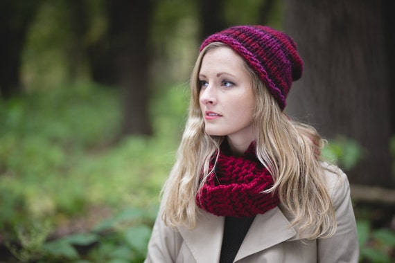 Knit Hat Women Knit Hat And Scarf Sets Knit Beanie Women Etsy