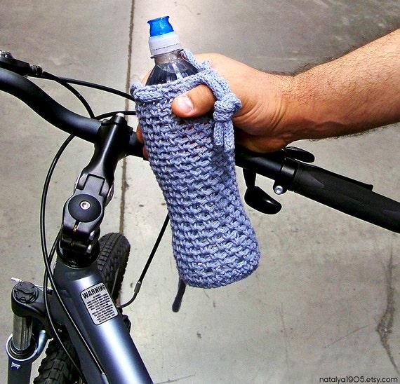Flasche Wasser gemütlich Flaschenhalter Gehäkelte