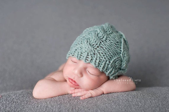 Newborn hat pattern knitting pattern knit baby hat pattern newborn photo prop pattern newborn photography prop newborn props boy from natalya1905 on