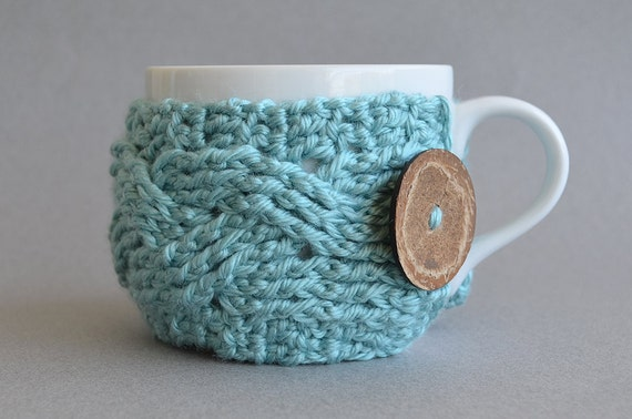 Crochet Pattern Crochet Cup Cozy Pattern Crochet Pattern Etsy