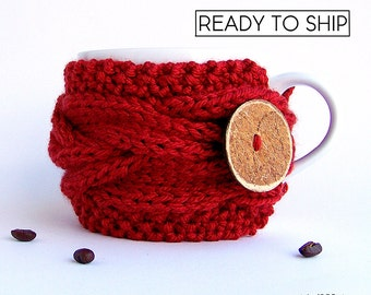 Coffee Cozy, Coffee Mug Cozy, Cup Cozy, Coffee Cup Sleeve, Tea Cozy, Coffee Cup Cozy, Coffee Sleeve, Cup Warmer, Rustic Gifts, Coffee Gifts