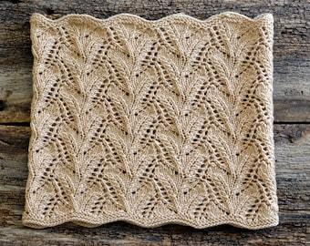Knitting Pattern Cowl, Knit Cowl Pattern, Cowl Knitting Pattern, Knit Cowl Scarf Pattern, Lace Knit Scarf Pattern, Lace Knitting Patterns
