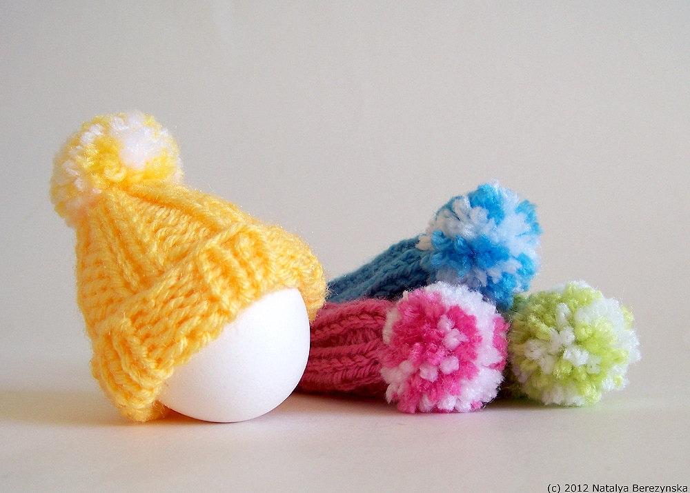Easter Egg Cozy Knitting Pattern, Easter Patterns, Easter Egg Hat ...