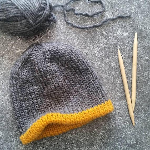Knit Hat Pattern Knitting Patterns Hats Knit Beanie Pattern  d63fcc62443