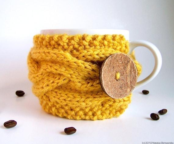 Knitting Pattern Coffee Cozy Pattern Tea Cozy Pattern Cup Etsy