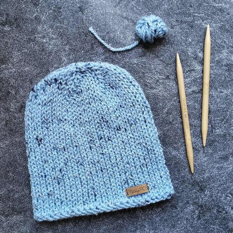 Knitting Pattern Knit Hat Pattern Womens Hat Pattern Chunky  11e2bbf79af