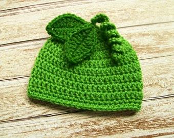 Crochet Baby Hat Peach Baby Hat Beanie Fruit Hat Baby Girl Hat  0f1080c5e84e