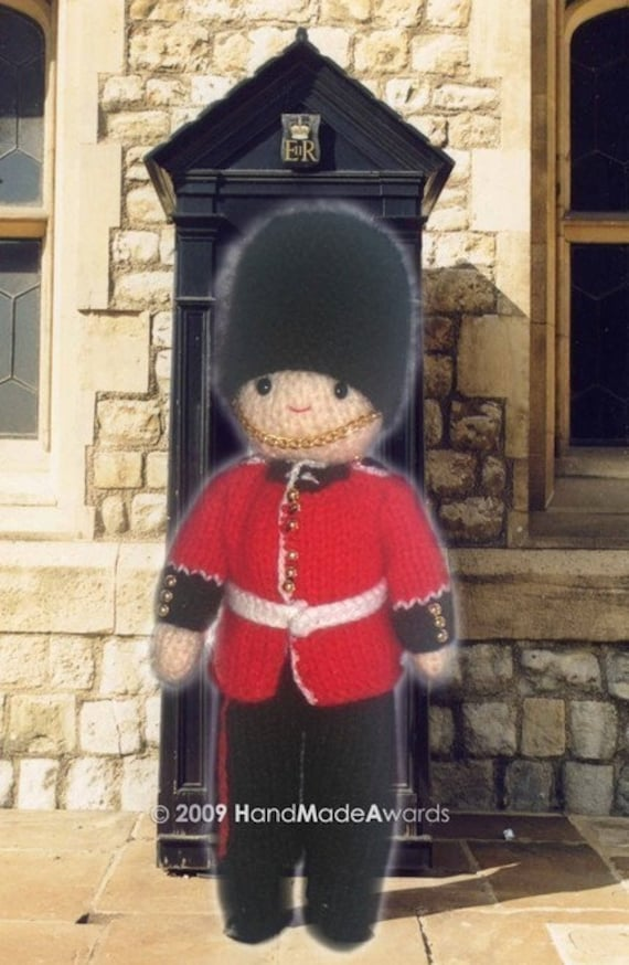 gorgeous royal guard from buckingham palace pdf email crochet etsy