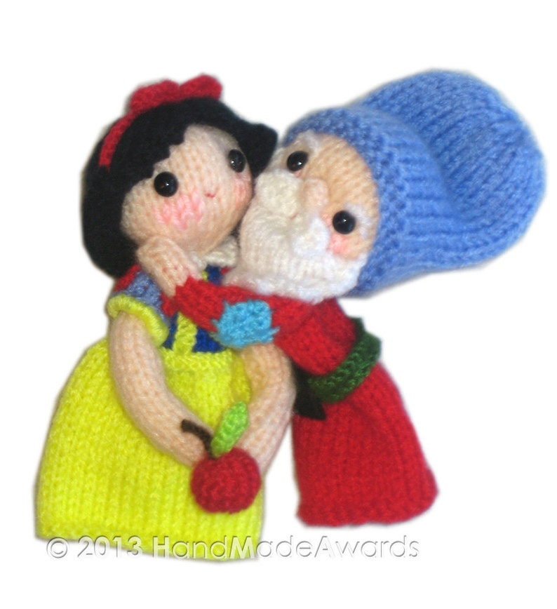 Snow White And The Seven Dwarfs Finger Puppets PDF Email
