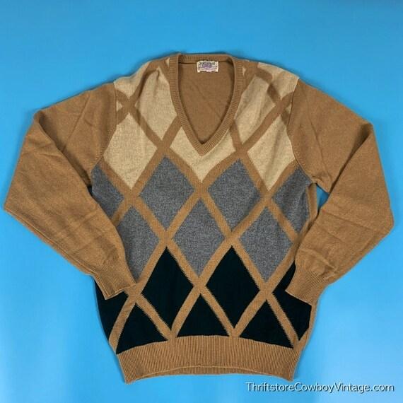 Vintage Jedforest Cashmere Sweater 60s 70s Scotlan
