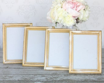 Gold 5x7 Frames Signs Wedding Bridal Shower Engagement Housewarming Birthday Party Decor