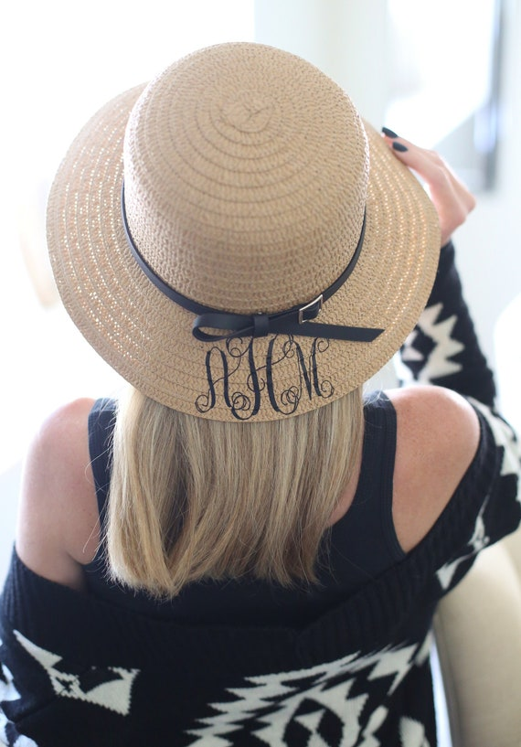 Personalized Gift Personalized Christmas Gift Personalized Sun Hat Monogrammed Hat Personalized Boater Hat Winter Hat