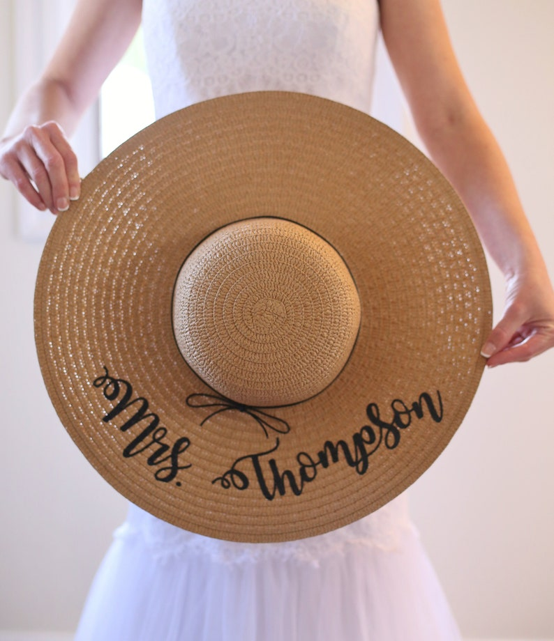 8dc89c132da9f Personalized Floppy Hat Personalized Sun Hat Personalized Hat