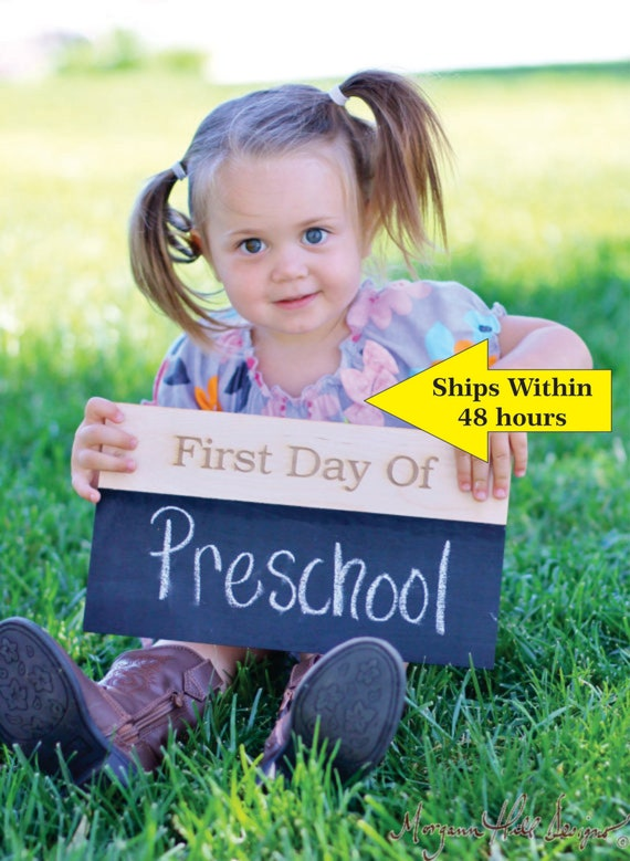 First Day Of School Chalkboard Sign Chalkboard Sign First Day Of School Sign