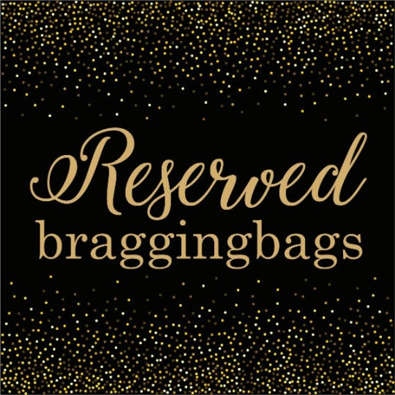 Reserved listing for Patricia