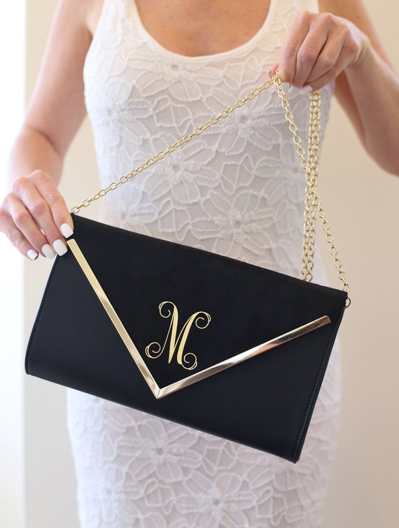 Personalized Bridal Shower Gift Personalized Wedding Gift Personalized Clutch Monogrammed Clutch Personalized Purse Personalized Bag