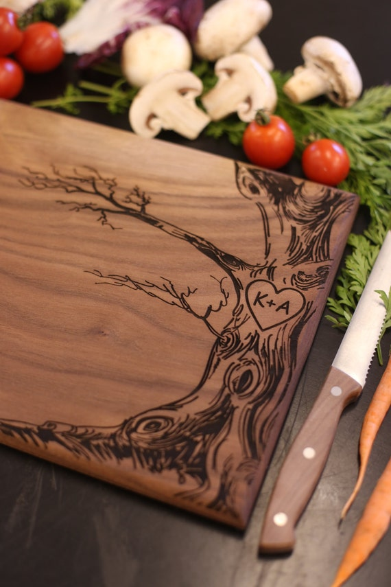 Personalized Cutting Board Personalized Christmas Gift Bridal Shower Gift Wedding Gift Engagement Gift Housewarming Gift (MHD20019)