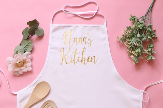Personalized Grandma Gift Personalized Apron Personalized Gift For Grandma Personalized Christmas Gift Personalized Kitchen Gift Cooking