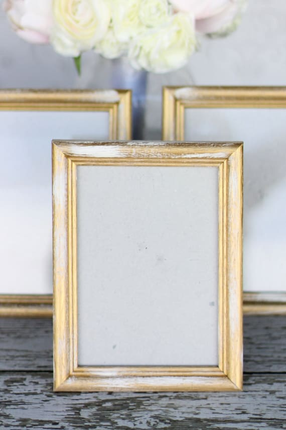 Gold 5x7 Frames Signs Wedding Bridal Shower Engagement   Etsy