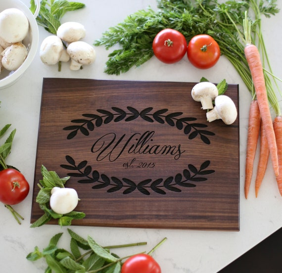 Personalized Cutting Board / Cutting Board Gift / Personalized Wedding Gift / Personalized Gift / Personalized Bridal Shower Gift