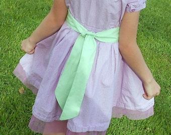 Dress Sash, Mint Green Sash, Sash for Bridesmaids, Sash for Flower girl, Wedding Sashes, Mint Belt, Dress Belt