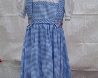 dorothy dress  size 7 child
