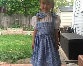 dorothy dress  size 5 child