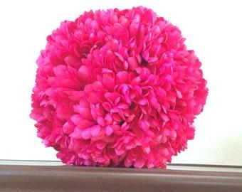 Kissing Ball Pomander Silk Flower Balls