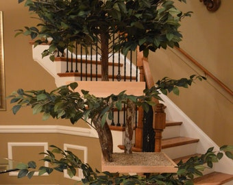 Kit-ty Tree Deluxe with Topper Assembly Cat Tree Kit
