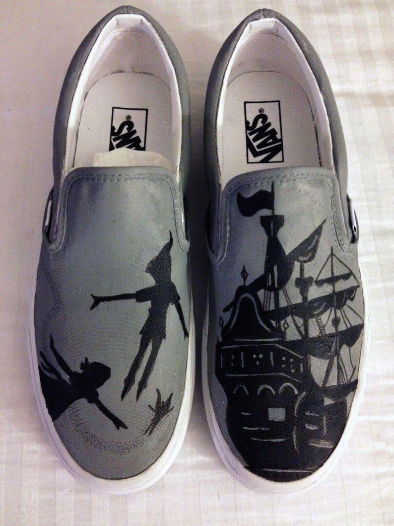 bc1e0dae97cd Disney s Peter Pan Custom Shoes