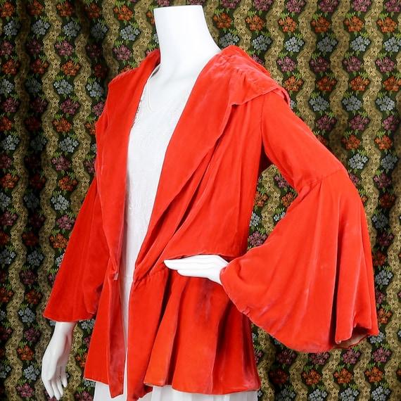 1930s Soft Silk Velvet Jacket