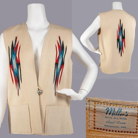 Vintage Chimayo Vest
