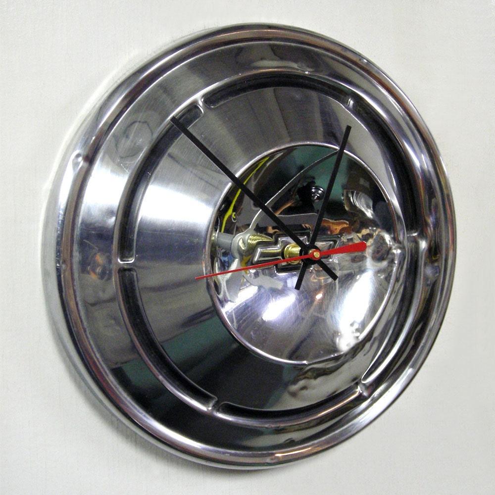 1968 1970 Chevrolet Hubcap Clock Chevy Camaro Hub Cap Etsy Symbol Image 0 1