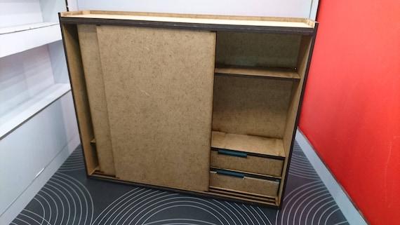 Scaletta In Legno Ikea : Ikea ha ispirato in miniatura naturale mdf moderno armadio in etsy