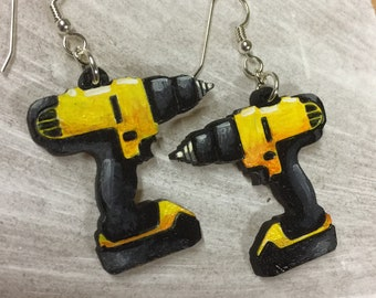 Power Drill Earrings