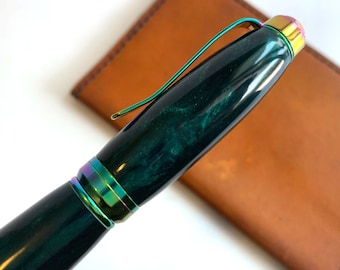 Hand Turned Cigar Style Pen