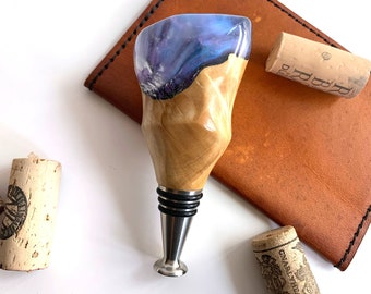Hand Turned Bottle Stopper