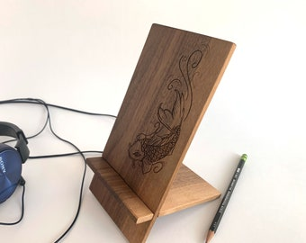 Koi Fish Smart Phone and Tablet Stand