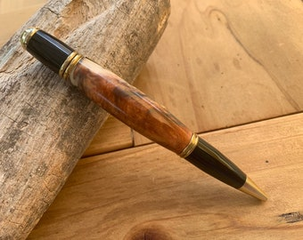 Hand turned Gatsby Pen with resin barrel // gifts for her // gifts for him