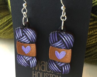 Skein of Yarn Earrings