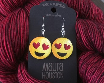 Love Emoji Earrings