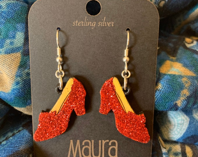 Ruby Slipper Earrings