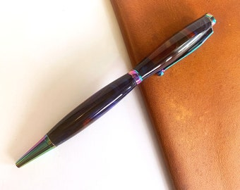 Hand Turned Fancy Slimline Style Pen