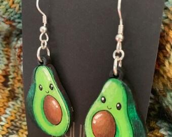 Happy Avocado Earrings