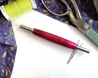 Hand Turned Double Sided Seam Ripper