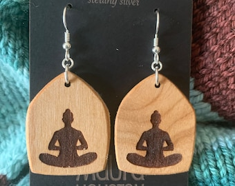 Butterfly Yoga Pose Earrings