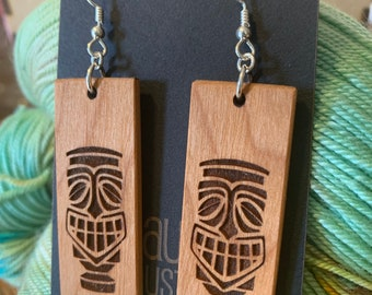 Happy tiki Earrings