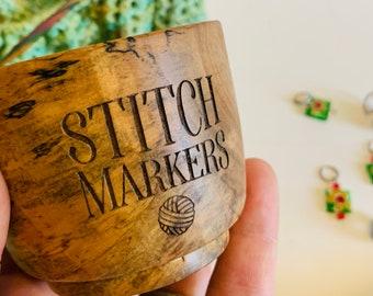 Stitch marker bowl
